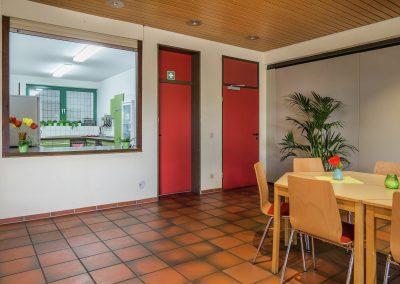 Homberger Treff - Küche und Vorraum