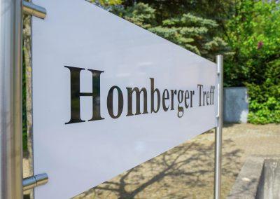 Homberger Treff - der Wegweiser