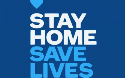 Zu Hause bleiben — Leben retten